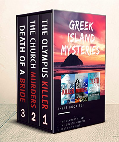 Greek Island Mysteries Boxed Set (Books 1-2-3): Gripping, psychological mystery/thrillers destined to shock you! cover