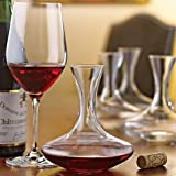 Individual Wine Decanters, Set of 4 Personal Decanters. By Lily's Home®