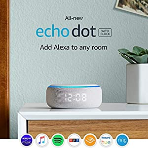 Echo Dot (3rd Gen) - Smart speaker with clock and Alexa - Sandstone 1