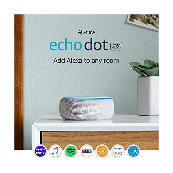 Echo Dot (3rd Gen) - Smart speaker with clock and Alexa - Sandstone 1