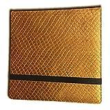 Binder - 3x4 12 Pocket Dragon Hide Gold