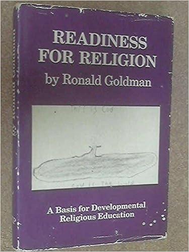 Readiness for Religion: A Basis for Developmental Religious Education
