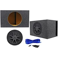 Kicker 44CVX152 15 CVX Comp VX 1000w RMS Car Subwoofer+Vented Sub Box Enclosure