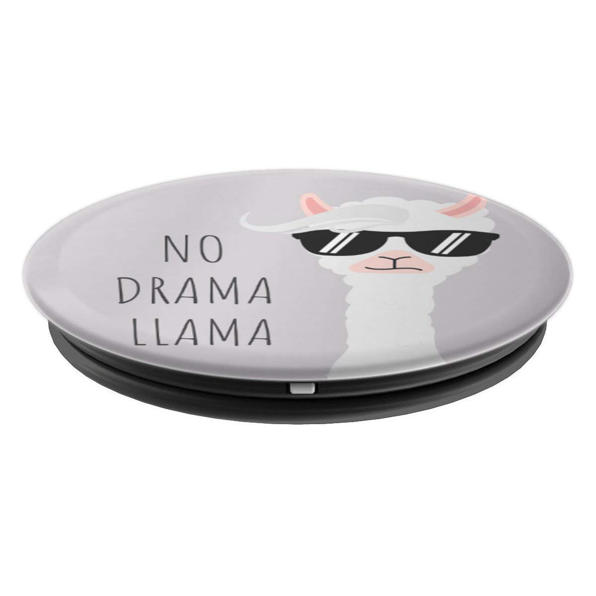 Amazon.com: No Drama Llama Pop Socket - PopSockets Grip and Stand for Phones and Tablets: Cell Phones & Accessories