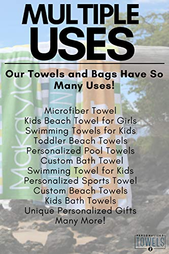 Buy personalized towels for girls