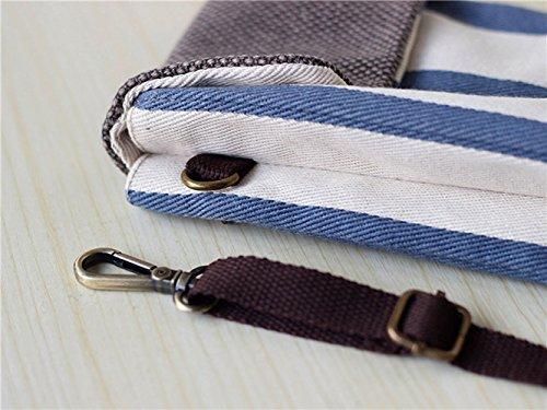 Bag Blue 7 iPhone for Stripes Mini Pouch Crossbody Casual Shoulder 6S Canvas Plus Phone Sc7vIw