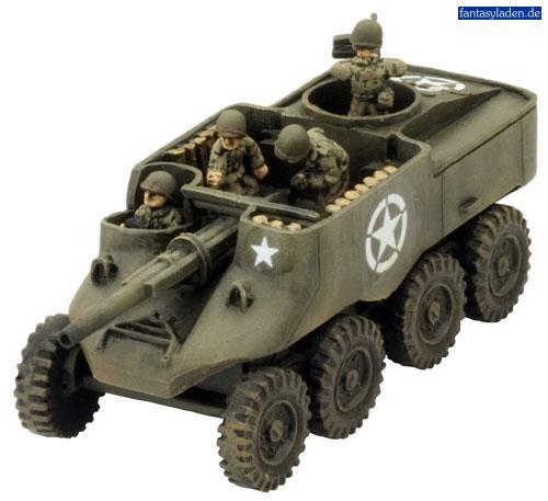 USA: T55E1 Gun Motor Carriage (x2)