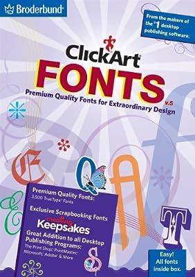 ClickArt Fonts V5