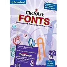 Clickart Fonts Version 5