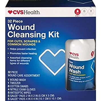 CVS Health Wound 32 pc Cleansing Kit