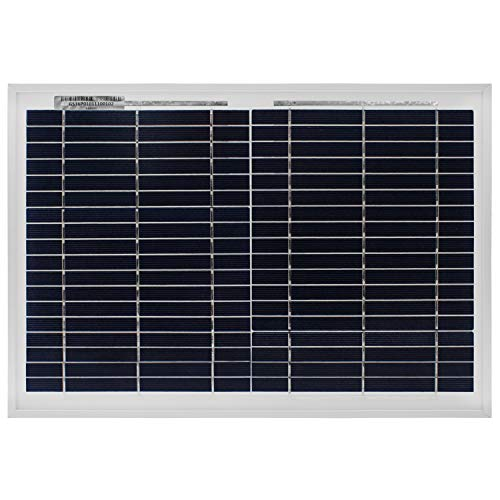 Mighty Max Battery 10 Watt Polycrystalline Solar Panel Charger for Deep Cycle Battery Brand Product