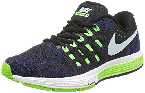 Nike Air Zoom Vomero 11 - Zapatillas de running para hombre Negro (Blk / Brly Grn-Cncrd-Elctrc Grn)