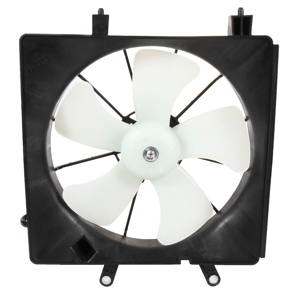 SCITOO Cooling Fan Assembly Compatible with 2001-2005 Honda Civic 1.7L