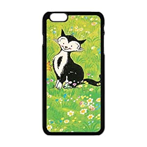 Cats Kitty Play In Garden Cute Phone Case for Iphone6 plus
