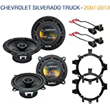 Fits Chevy Silverado Truck 2007-2013 Factory Speaker Upgrade Harmony R5 Package