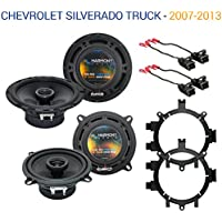 Chevy Silverado Truck 2007-2013 Factory Speaker Upgrade Harmony R5 Package