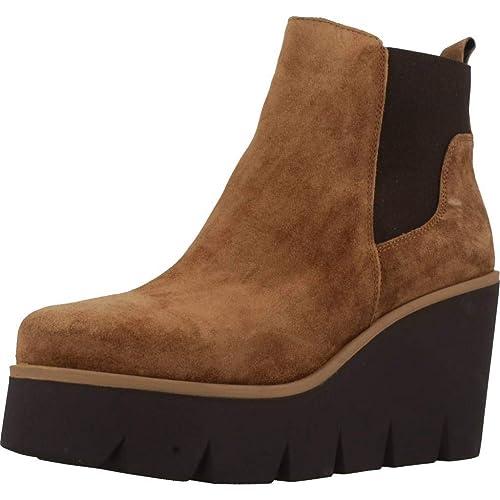 Alpe 32531101 - Botines Mujer Marrón Talla 40: Amazon.es: Zapatos y complementos