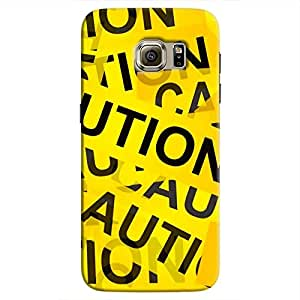 Cover It Up - Caution Tapes Galaxy S7 EdgeHard Case
