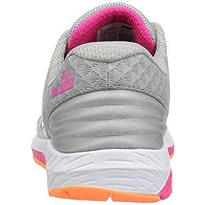 New Balance Women's URGEV2 Running Shoe, Silver Mink/Alpha Pink, 8 D US