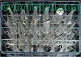 Winco CDT-24 24 Tubes Cake Decorating Set, 18/8 Stainless Steel