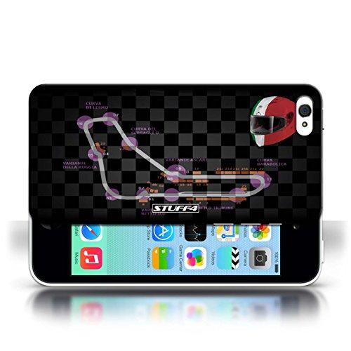 Etui / Coque pour Apple iPhone 5C / Italie/Monza conception / Collection de 2014 F1 Piste
