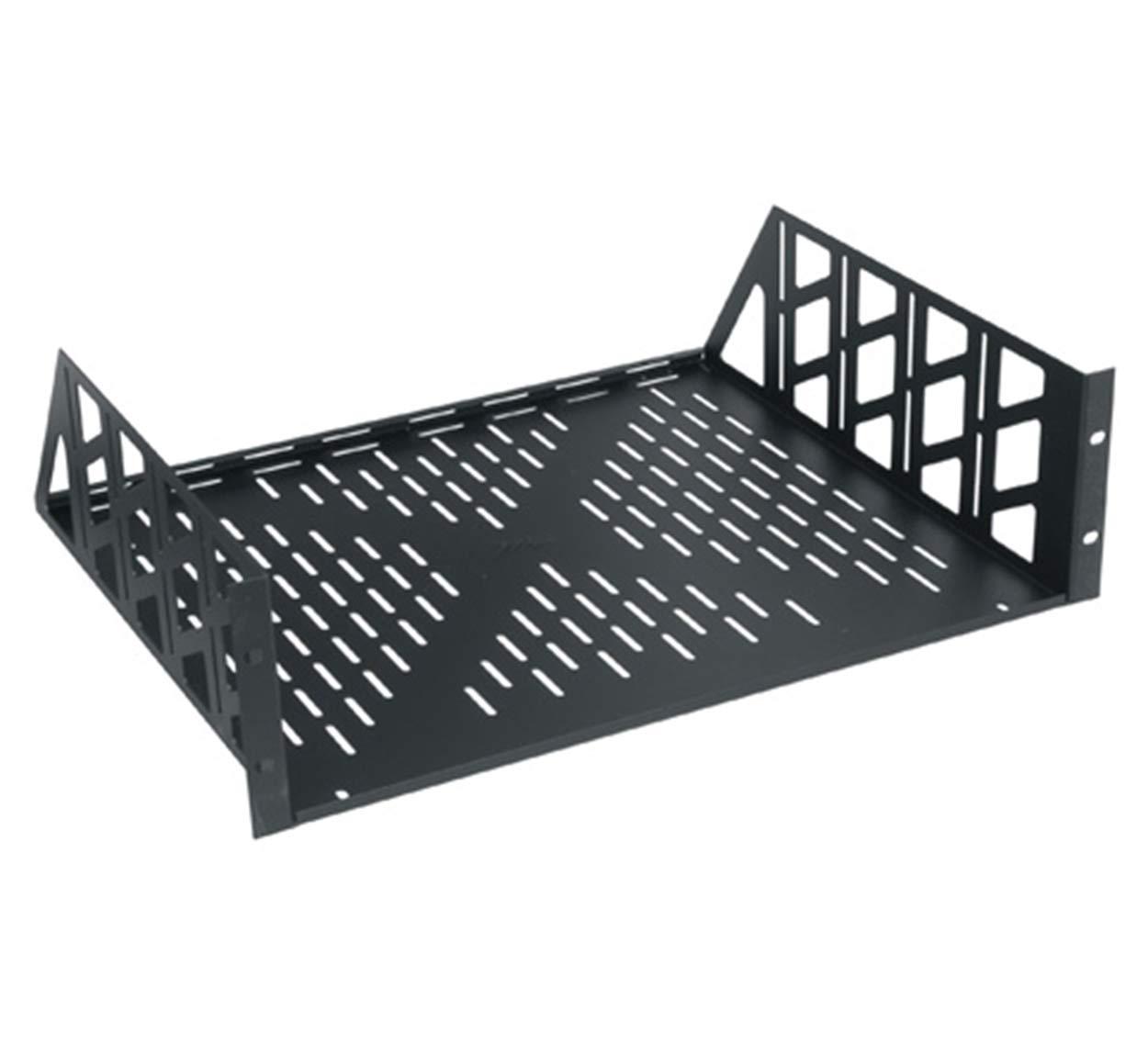 Vented Rack Shelf (3 Rack - 17.5 in. W x 15 in. D x 5.25 in. H)