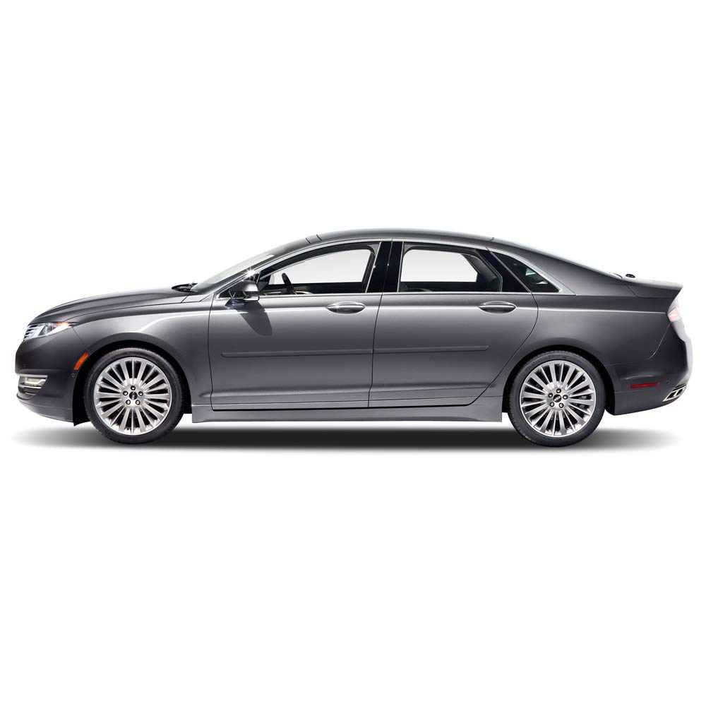 J7 Lincoln MKZ Dawn Enterprises FE-FUS13 Finished End Body Side Molding Compatible with Ford Fusion Magnetic