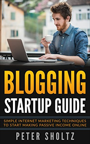 Blogging Startup Guide Marketing Techniques ebook product image