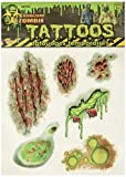 Forum Novelties Biohazard Zombie Tattoos Adult Accessory