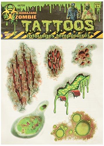 Biohazard Zombie Tatoos]()