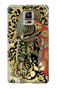E2665 Kashiwade Hanoshi 800 Heroes Of The Japanese Tattoo Funda Carcasa Case para Samsung Galaxy Note 4