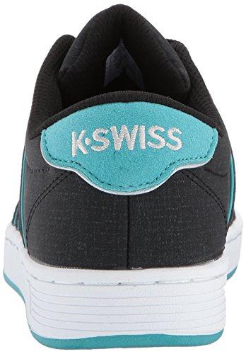 K-swiss Donna Corte Pro Ii Sp Cmf Fashion Sneaker Nero / Baltico / Bianco