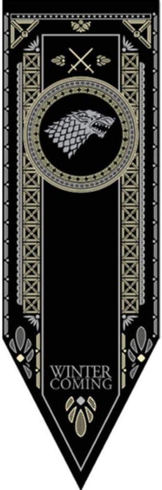 ZFWB Banni/ère Lumineuse Famille banni/ère Maison d/écoration tr/ône banni/ère 15x50cm Arryn