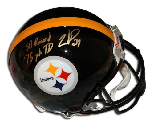 - Autographed Willie Parker Steelers Proline Helmet inscribed