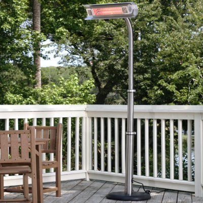 "Fire Sense 2117 92"" Telescoping Offset Pole Mounted Infrared"