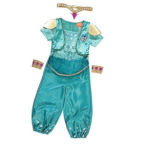 Costume da giorno George Shimmer & Shine Book Day blu 3-4 anni