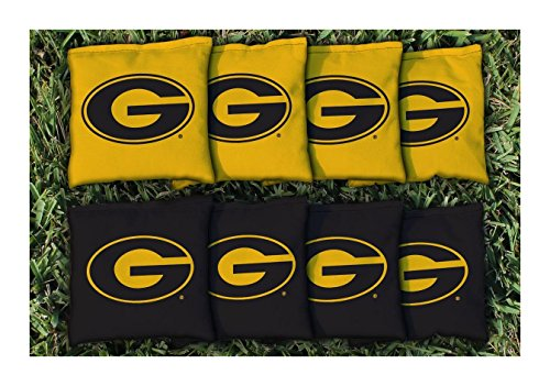 State University Tigers (NCAA Replacement Corn Filled Cornhole Bag Set NCAA Team: Grambling State University Tigers)