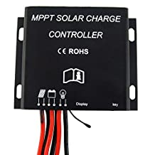 30A 12V/24V 130W/260W MPPT Solar Battery Charge Controller Waterproof IP68