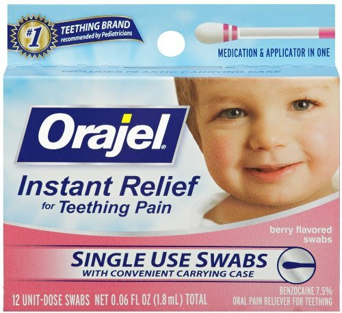 Baby Orajel Instant Teething Pain Relief - Oral Pain Relief Swabs Shopping Results