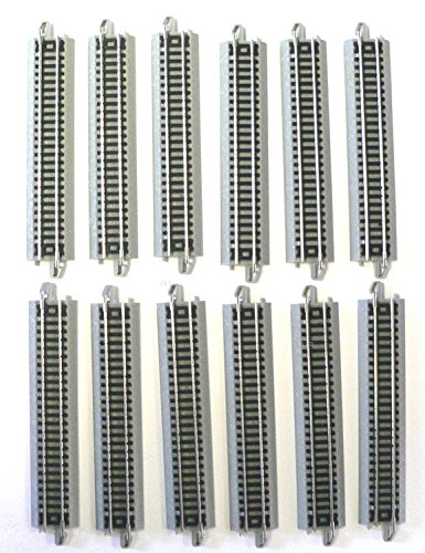 N Scale Bachmann EZ Track 12 Pieces of 5 inch straights, used for sale  Delivered anywhere in USA