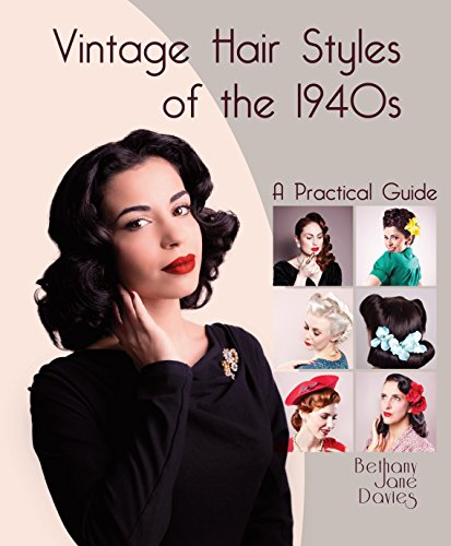 1940s Hairstyles- History of Women's Hairstyles Vintage Hair Styles of the 1940s: A Practical Guide   AT vintagedancer.com