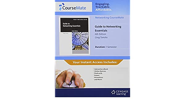 Networking Coursemate With Ebook Printed Access Card For Tomshos