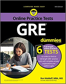 GRE For Dummies with Online Practice, 9th Edition: Amazon.es ...