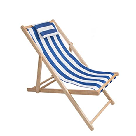 Super Amazon Com Hiod Recliner Striped Outdoor Beach Chair Onthecornerstone Fun Painted Chair Ideas Images Onthecornerstoneorg