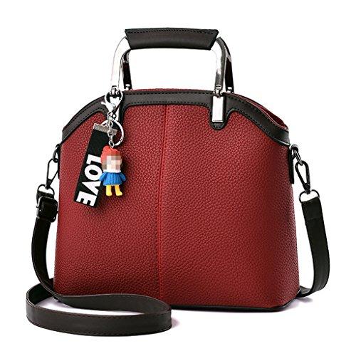 WXY Bolsos, 2018PU Cross Bag Shoulder Bag Square Messenger Bag Variedad de Colores Regalos de Vacaciones Opcionales 26 * 11 * 29cm Bolso de Mujer B