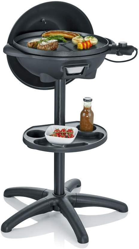 Severin Barbacoa Grill PG 8541 - Barbacoa de Pie, Superficie de Grill, 2000 W, 41 cm, Negro