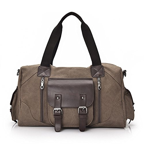Extra And Large Coffee Duffle Black Travel Storage Gimitunus color Foldable Bag Shopping Strong Bag 8xZROtqI