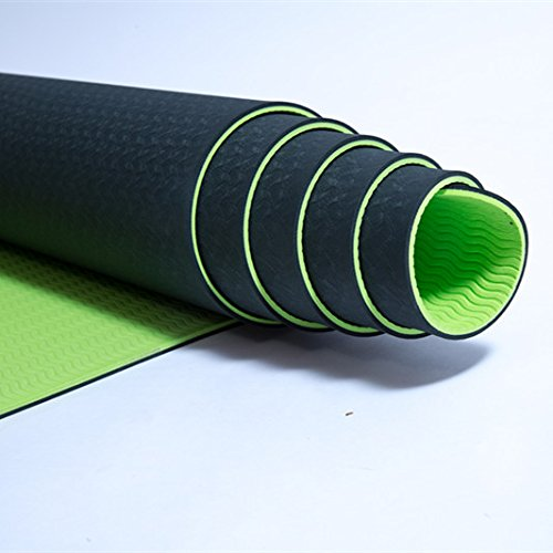 YOOMAT Engrosamiento Anti Skid Mat Principiante Fitness Yoga ...