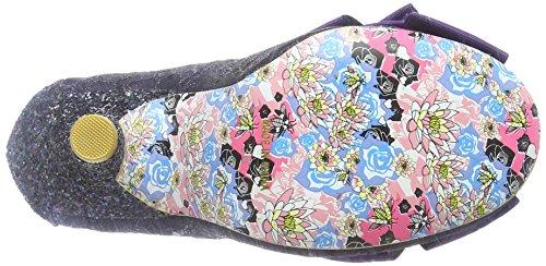 Scarpe Ah Purple Tacco Viola Chiusa col Black Choice Donna Punta Irregular Ascot EwTqfzxP