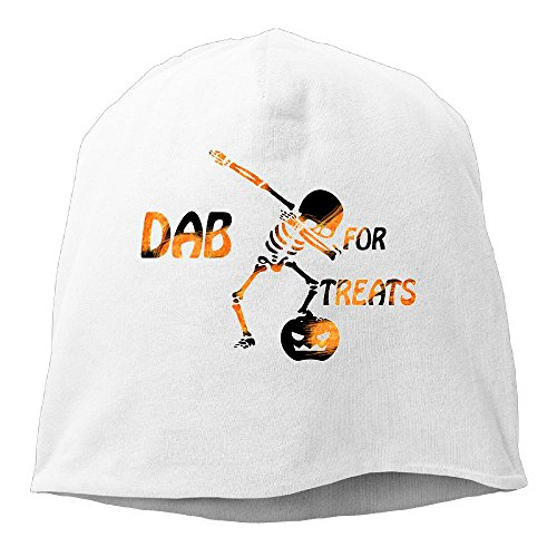 Hip Hop Jack Pumpkin Dab Pose Dab Unisex,Women/Men Wool Hat Soft Stretch Beanies Skull Cap (Panama Jack Stretch Hat)